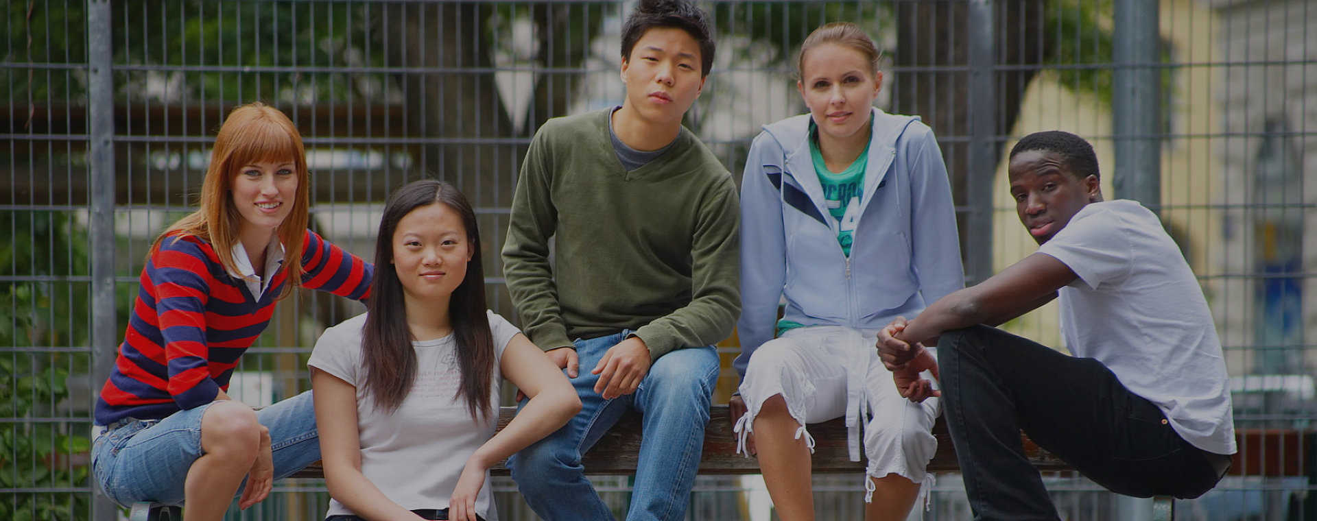 Group of Students with different races